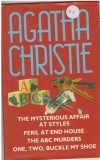 купить книгу Agatha Christie - The Mysterious Affair at Styles. Peril at End House. The ABC Murders. One, Two, Buckle My Shoe
