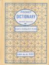 Купить книгу [автор не указан] - Pocket dictionary Arabic-English / Карманный англо-арабский словарь