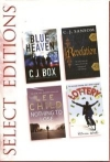 C. J. Box, C. J. Sansom, Lee Child, Patricia Wood - elect Editions: Blue Heaven, Revelation, Nothing to Lose, Lottery