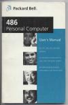 Купить книгу  - Packard Bell 486 Personal Computer User's manual